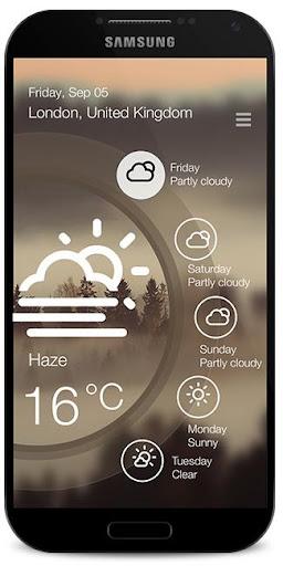 Weatherify - weather forecast