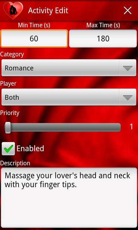 Couple Foreplay Sex Game- screenshot