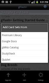 gFlash+ Flashcards & Tests Screenshot 3