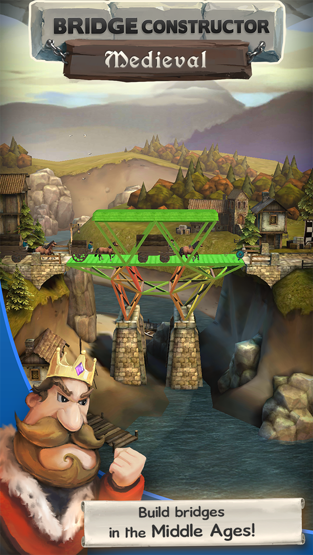 Bridge Constructor Medieval screenshot #1