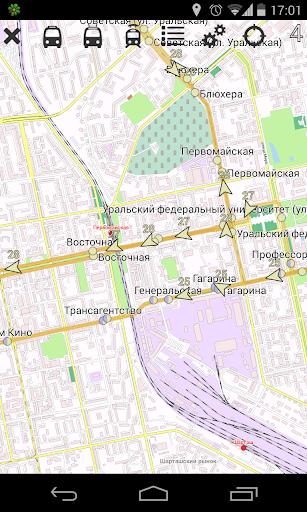Yekaterinburg Public Transport