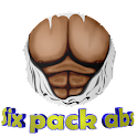 Six pack abs icon
