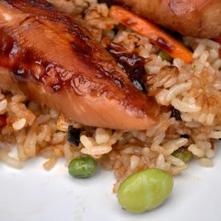 Teriyaki Chicken with Vegetable Fried Rice