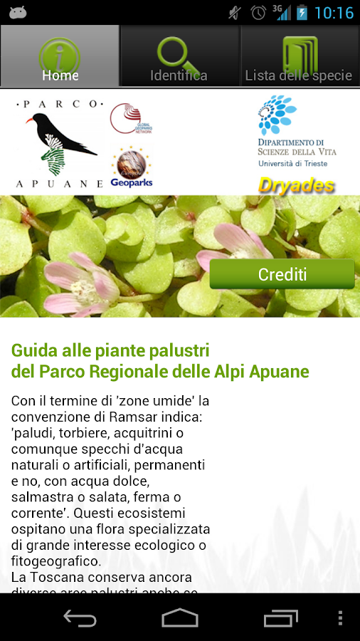 Piante palustri parco apuane android apps on google play for Piante palustri