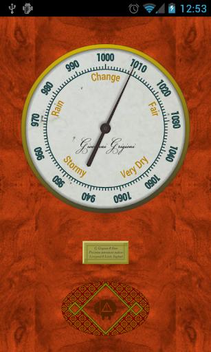 Vintage Barometer Sensor