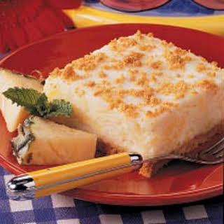 Marshmallow Graham Dessert.