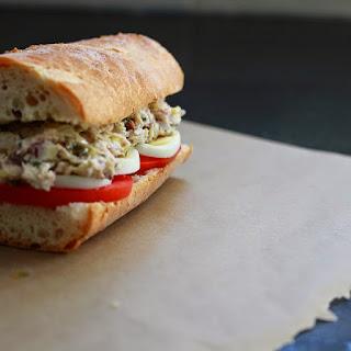 Nicoise Tuna Salad Sandwich