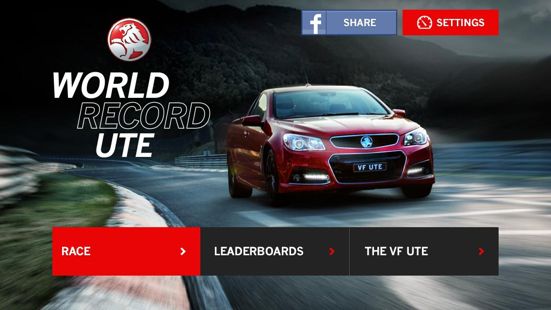 Holden World Record Ute - screenshot