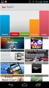 AppDJ: Recommends New Apps - screenshot thumbnail