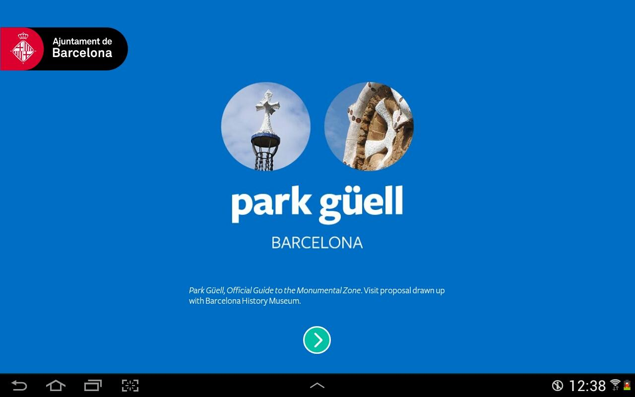 Park Güell - Official Guide- screenshot