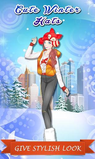 Cute Winter Hats: City Dressup
