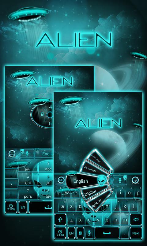 Alien-Space-GO-Keyboard-Theme 7