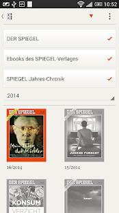 DER SPIEGEL - screenshot thumbnail