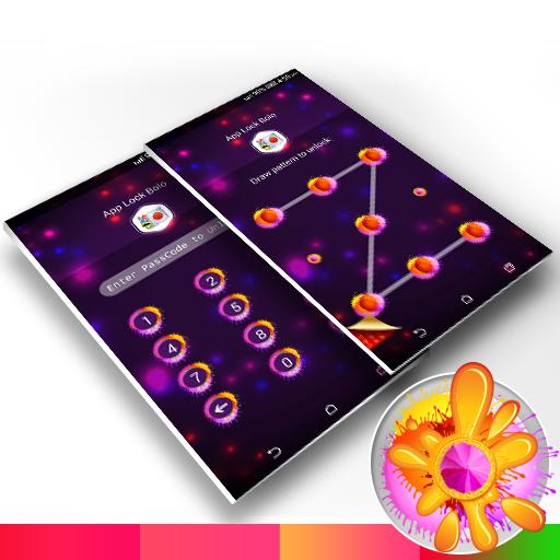 App Lock Bolo : Theme Holi file APK Free for PC, smart TV Download
