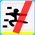 StickMan Running(ChaosAvoider) icon