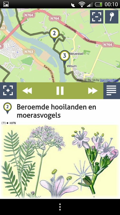Natuur in Nederland- screenshot