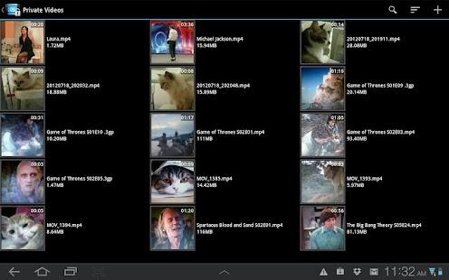 Video Locker - Hide Videos Screenshot 9