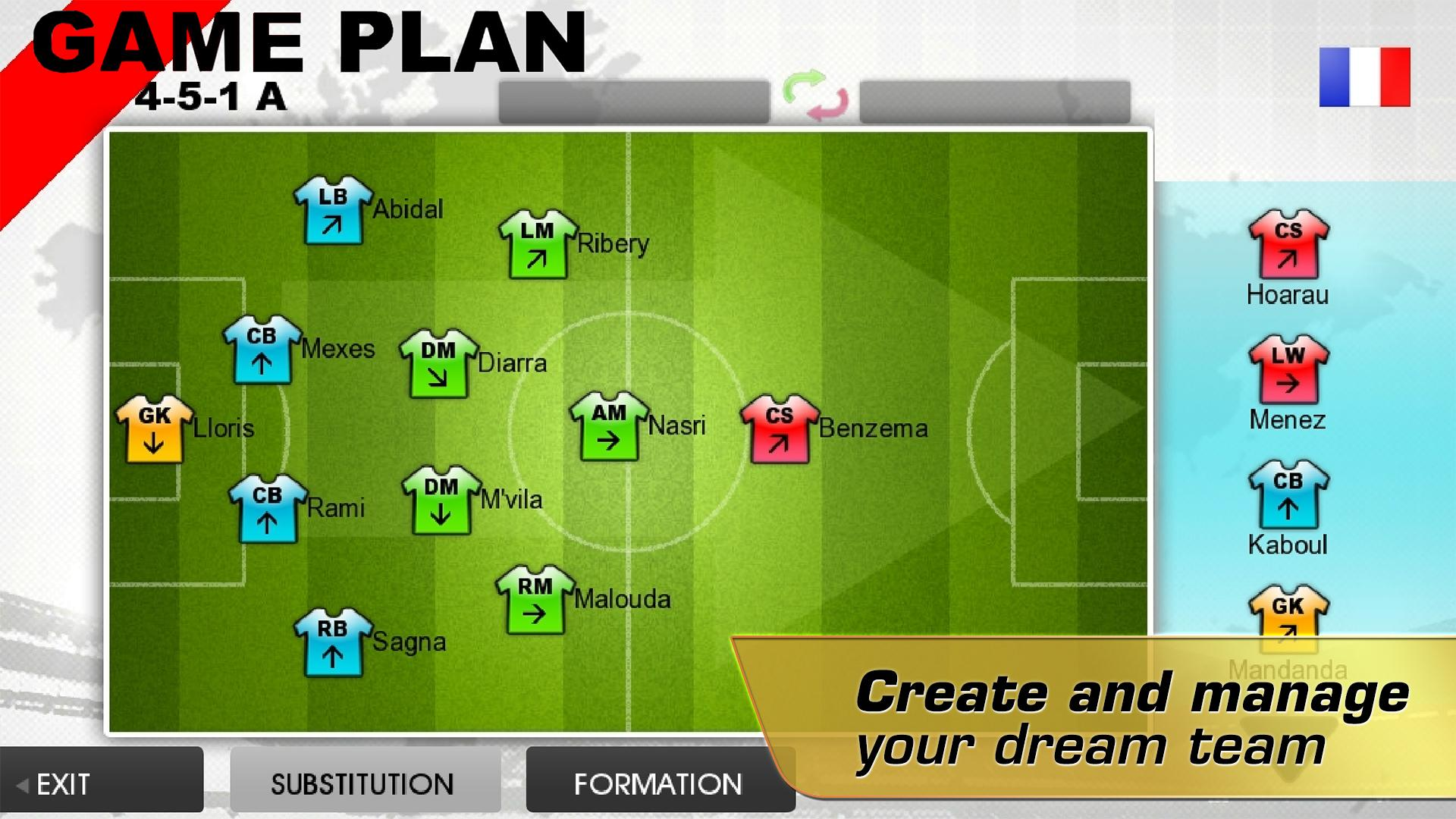 Real Soccer 2012 screenshot #4