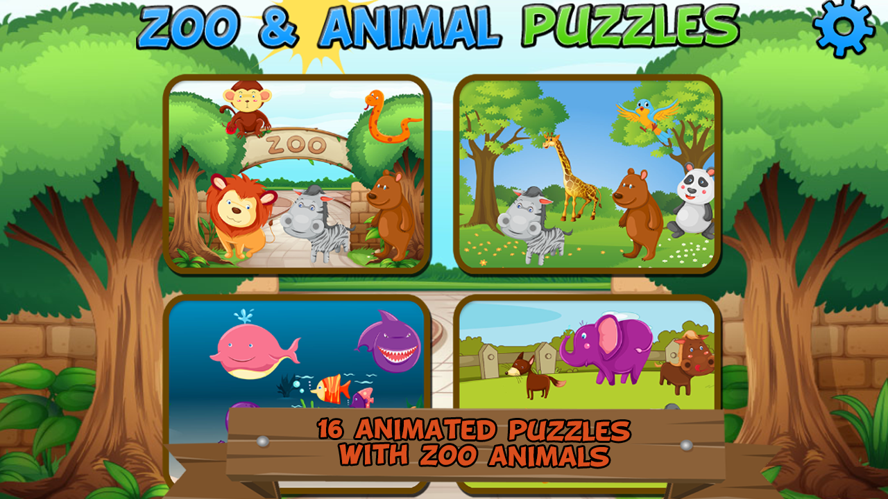 Zoo and Animal Puzzles- screenshot