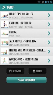 MyPhysio App - screenshot thumbnail