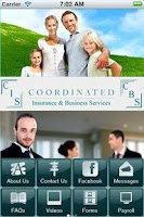 Screenshot of Coordinated Insurance Services