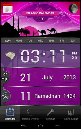 Islamic Calendar (Hijri) Free 1.4 screenshot 417438