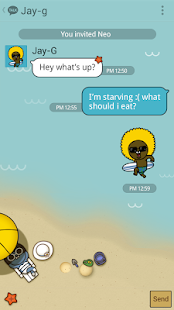 SUMMER STORY - KAKAOTALK THEME- screenshot thumbnail