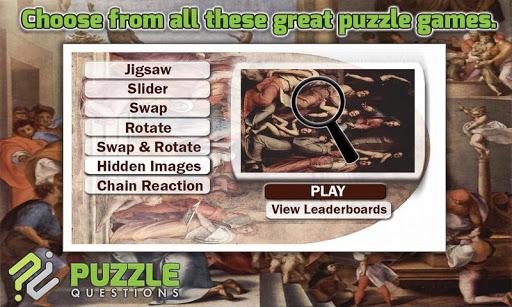 Free Pontormo Puzzle Games