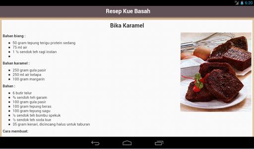 【免費書籍App】Resep Kue Basah-APP點子