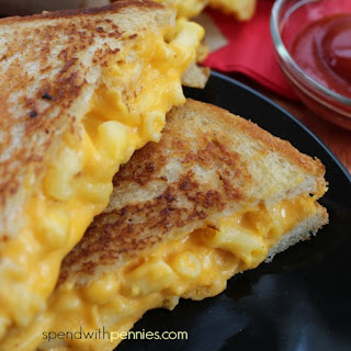 Grilled Mac & Cheese Sandwich.