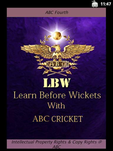 ABC Cricket Eightth Class