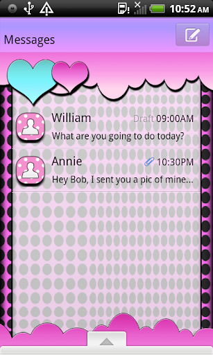 CoolSixties4U GO SMS THEME