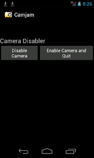 Camera Disabler / Locker- screenshot thumbnail