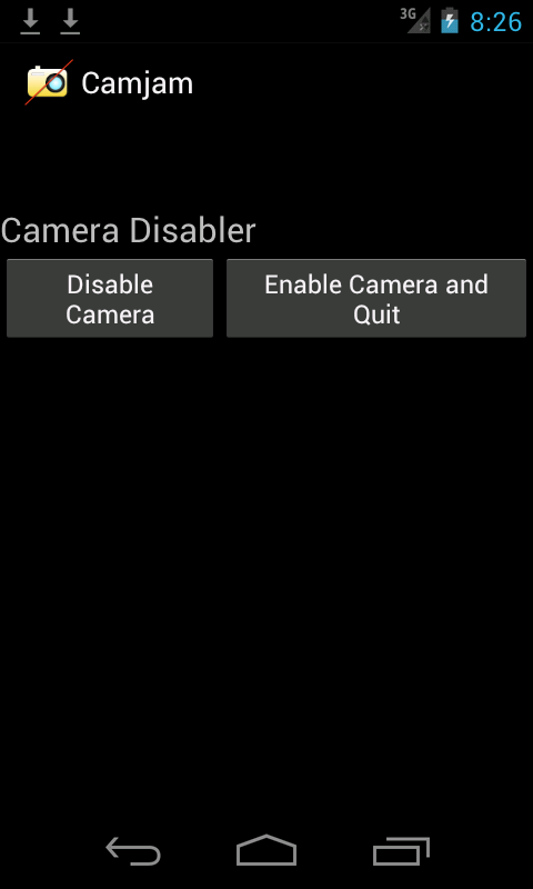 Camera Disabler / Locker- screenshot
