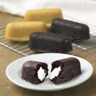 Chocolate Cream Boat Cakelets