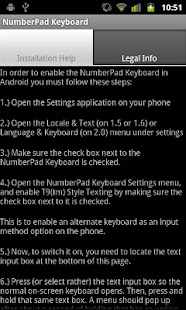 (EvenBetter)NumberPad Keyboard - screenshot thumbnail