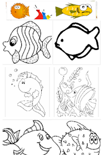 Fish Coloring For Kids