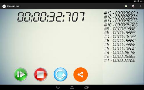Χρονόμετρο - Stopwatch - screenshot thumbnail