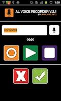 Screenshot of AL Voice Recorder
