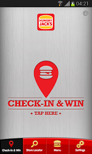 Hungry Jack's® Shake & Win App- screenshot thumbnail