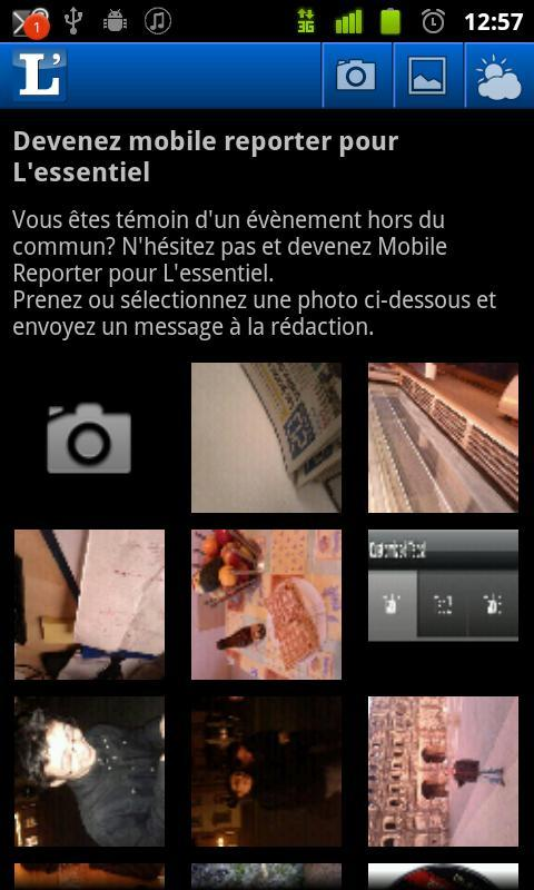 L'essentiel - screenshot