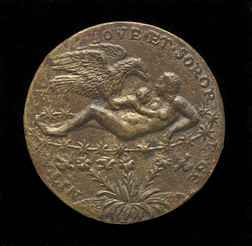 Jupiter as an Eagle Bringing the Infant Hercules to Juno [reverse]