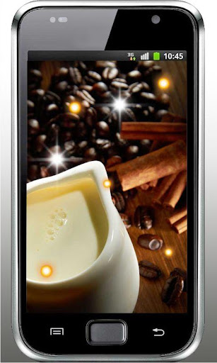 Coffee Candy live wallpaper