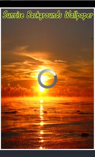 Sunrise Backgrounds Wallpaper