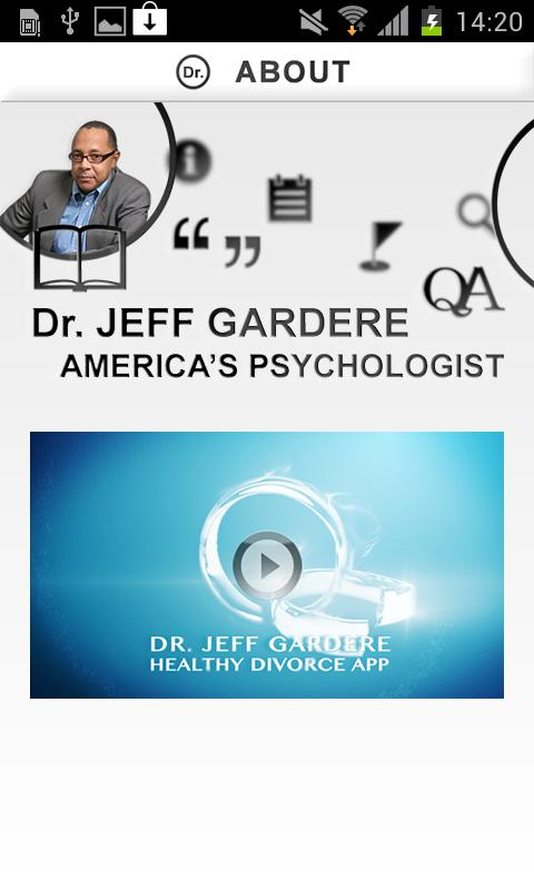 Dr Jeff Gardere HealthyDivorce - screenshot