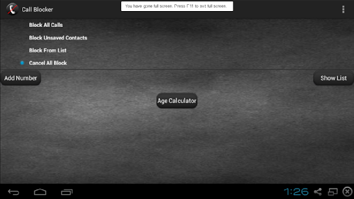 Call Block 6.0 screenshots {n} 3
