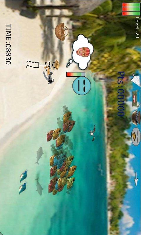 Stickb Fish Shooter Stickman- screenshot