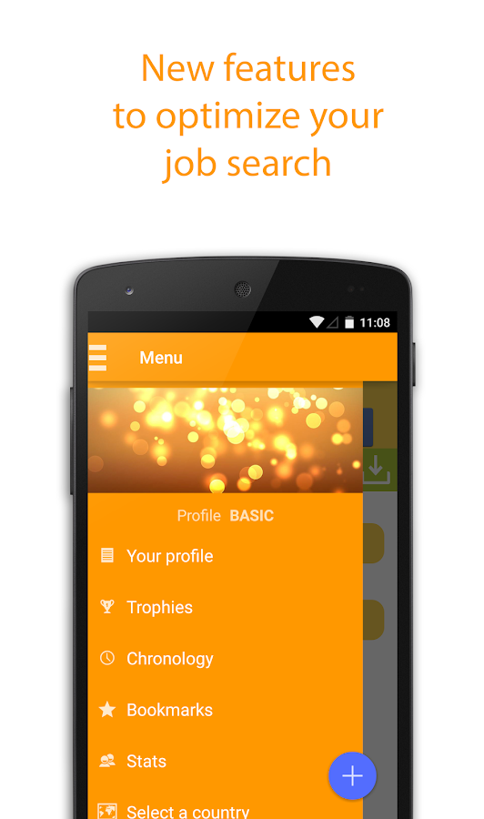 Job Search- screenshot