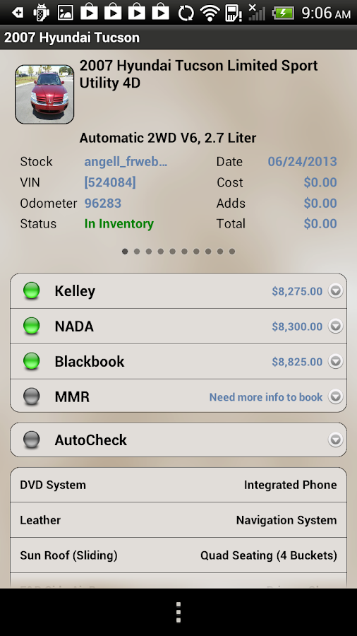 DealerCenter Mobile - screenshot