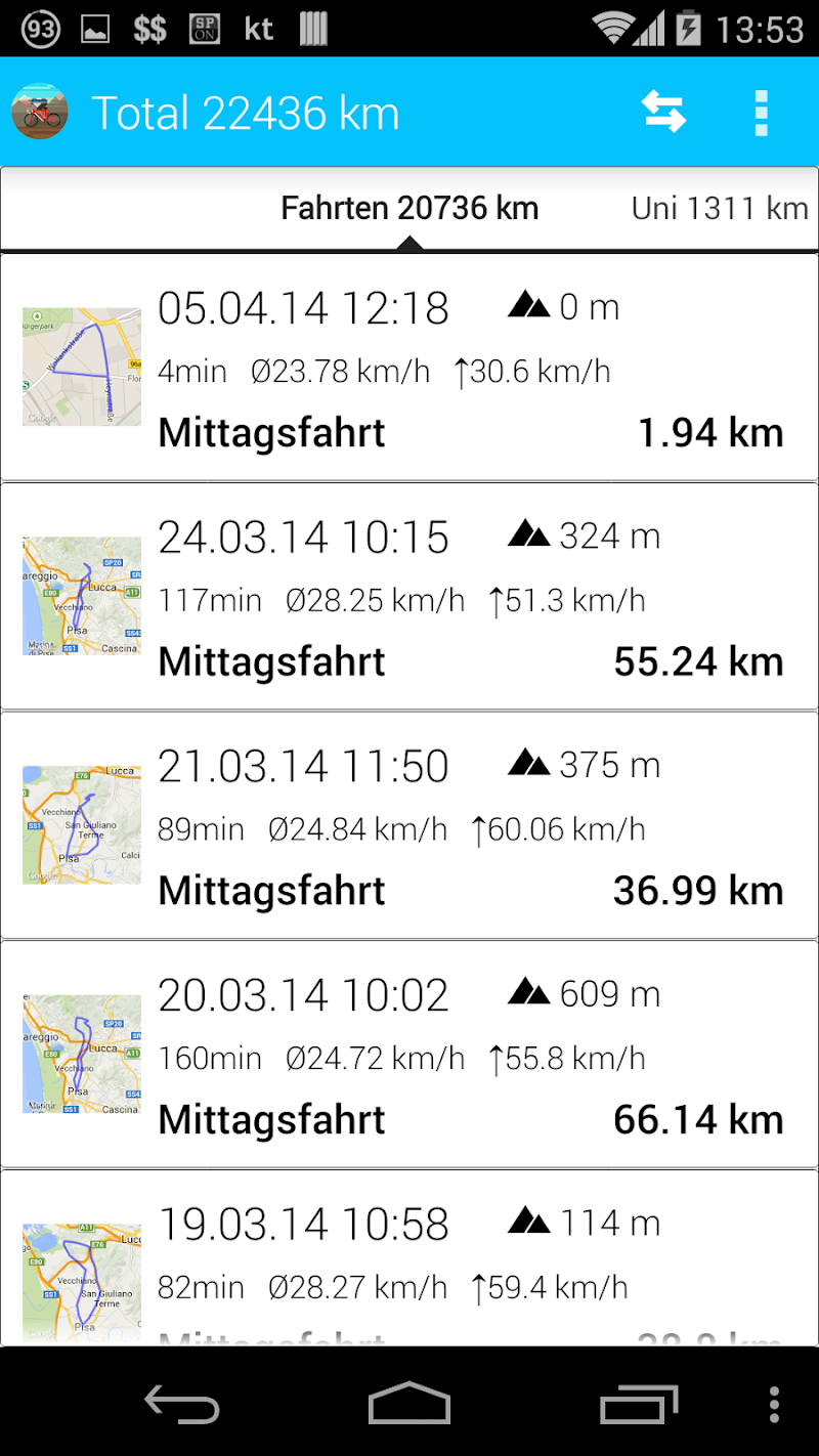 BikeComputer Pro Screenshot 7